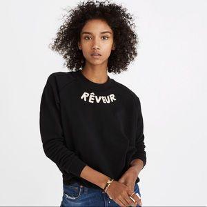 Miles by Madewell Reveur Sweatshirt Black